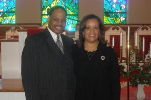 Rev. Jeffery O. Johnson, Sr., 1st Lady Valda Johnson